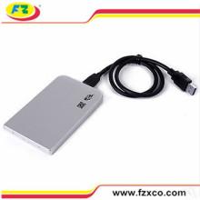 2.5′′ Silver Aluminum USB2.0 SATA to HDD USB Case