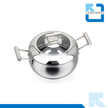 New Design Stock Pot Stainless Steel Ware Soup Pot