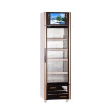 210-я стеклянная дверь с мультимедийным дисплеем со светодиодным экраном
