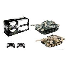 Tank Battle Set Militar brinquedos de plástico (sem baterias incluídas)
