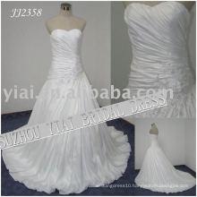 2011 latest elegant drop shipping freight free ball gown style 2011 wedding dress JJ2358