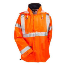 High Vis FR impermeável Work Jacket