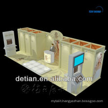 3mx6m exhibition booth for hire / rental 6x6 exhibition stand builder/ hire exhibition stand