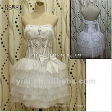 RSW81 Lace Puffy Sexy Short Wedding Dress 2013
