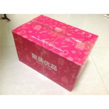 Коробка из гофрированного картона / Экспресс-подарочная коробка / E-Flute Color Carton
