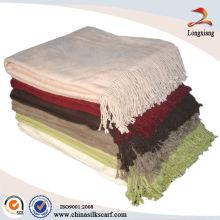 Woven Bamboo Organic Cotton Baby Blankets, Blanket Sofa Throws, Heavy Throw Blanket
