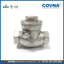Válvula de retención de acero inoxidable 304