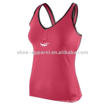 Wholesale factory low price fitness top for women,tennis top