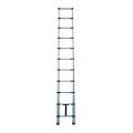 Proveedor profesional de aluminio de la escalera ligera telescópica de aluminio