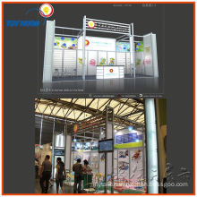portable aluminum trade show display exhibition booth, design exhibition display system