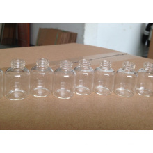 10ml klare röhrenförmige Mini-Glasflasche für die Pille Verpackung