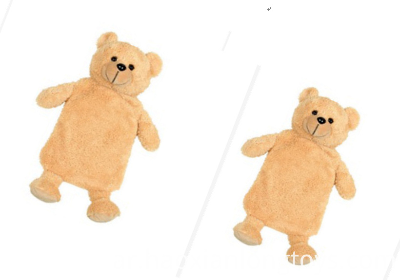 Teddy Bear Plush Pillow