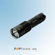 CREE Xml U2 Высокая мощность портативный алюминиевый перезаряжаемый фонарик (POPPAS-F13)