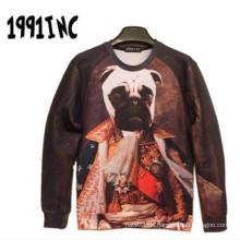 Puppy Dog Casual Langarmshirt für den Mann