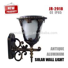 lampe solaire rechargeable led extérieur mur solaire, led lampe de mur extérieur