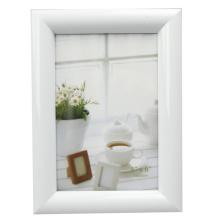 Белый круглый профиль 4x6inch фото рамка