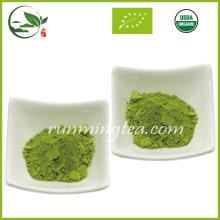 Polvo de té verde de Matcha orgánico de la venta caliente de la salud