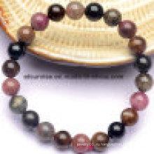 Полудрагоценный камень Мода Crystal Tourmaline браслет
