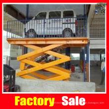 Hydraulic car lifting machine
