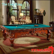 Household and pubs pool table black snooker table