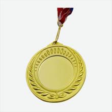 Medalhas feitas sob encomenda baratas da inserção da placa do esporte da raça do metal