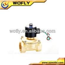 Válvula de ar de micro solenóide de 24 V DC normalmente fechada