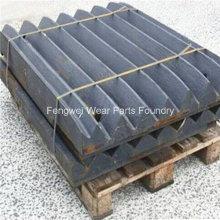 High Mangan Wear Part Backenbrecher Zahnplatte PE150 * 250