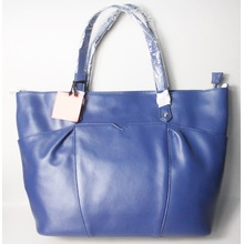 Guangzhou Supplier Fashionable Leather Ladies Shopper Hand Bag (221)