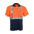 T-shirt de sécurité réfléchissant à manches courtes avec poche