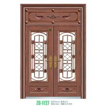 Schmiedeeiserne Türen und Fenster