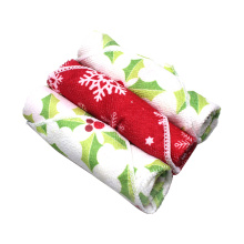 Printed Kitchen Cleaning Microfiber Towel Home Cleaning