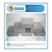 Завод прямых продаж высокой чистоты молибдена блока с высоким качеством