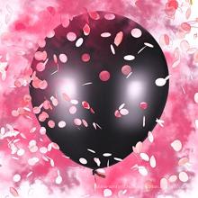 """Baby Гендерные раскрыть шар набор розовая пудра и конфетти душа ребенка - девочку комплект детские - Слон 36"""""""