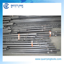 Quarry Use 6 Degree Taper Drill Rod with Shank
