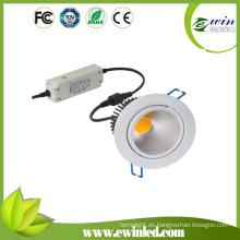 Empotrable LED COB Downlight con CE / RoHS aprobado