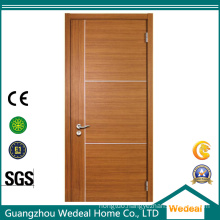 Sandwich Construction MDF Interior Veneer Flush Door