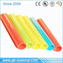 Tuyau rigide coloré en PVC d'extrusion qui respecte l'environnement de bonne qualité 12 pouces