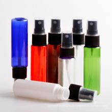Chaud! Bouteille de vaporisateur en plastique pour animaux de compagnie de 10 ml à 300 ml avec pulvérisateur d'aérosol blanc / transparent (PB11)