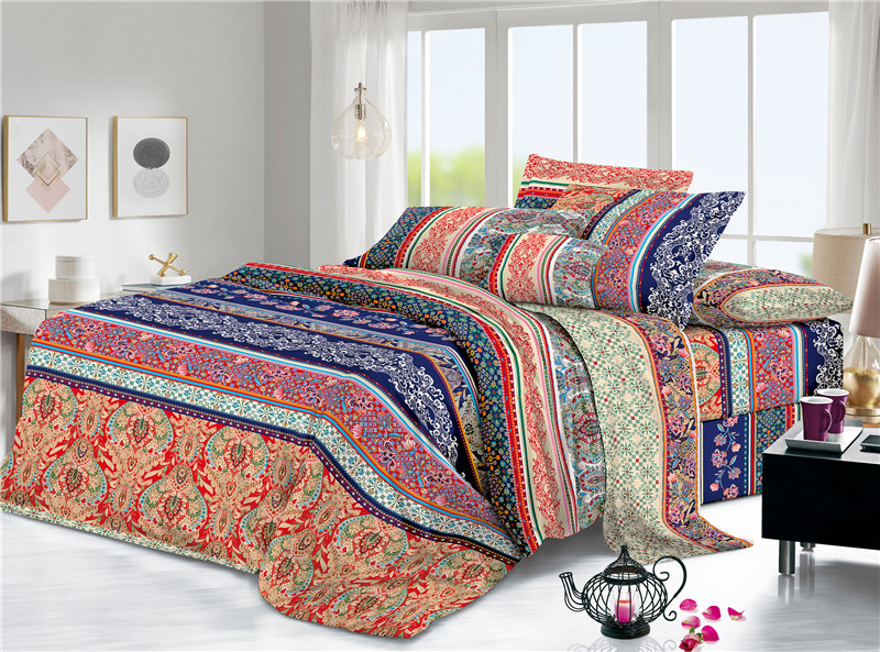 Plain Woven Printed Daily Home Textiles Bedding Sheets
