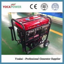 4kw 4-Takt Motor Benzin-Generator mit Schweißen und Luft-Kompressor