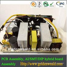 conception de carte PCB et service mené solaire d'Assemblée de PCBA d'Assemblée de carte PCB pour le contrôle industriel