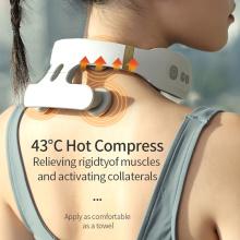 Masseur de cou portable intelligent avec impulsion électrique de chaleur