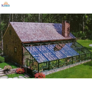 Laminato vetro di sicurezza Lean To Sunroom Garden House