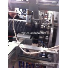 PE steel winding pipe production line