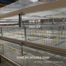 Projeto de gaiola de frango de produtos agrícolas para frango adulto