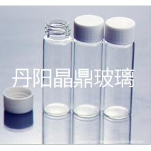 Serie de frasco de cristal Tubular atornillado de alta calidad