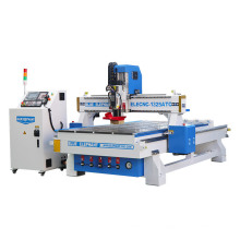 1325 Automatic Tool Changer 3D Wood Carving CNC Router Machine with Italy Hsd Atc Spindle