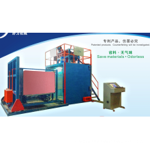 AUTO VACUUM FOAMING MACHINE WITH TOP PRESSING DEVICE