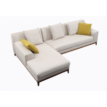 Mobiliário de sala de estar mais vendido 1 + 2 + 3 Sofá de tecido