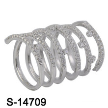 2016 nouveau modèle bijoux mode bague en laiton (S-14709)